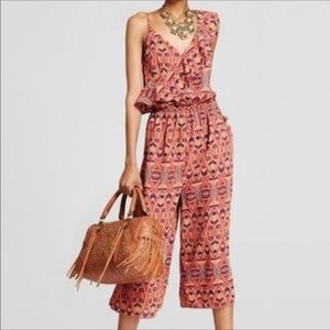 Women's One Shoulder Ruffle Jumpsuit - Xhilaration